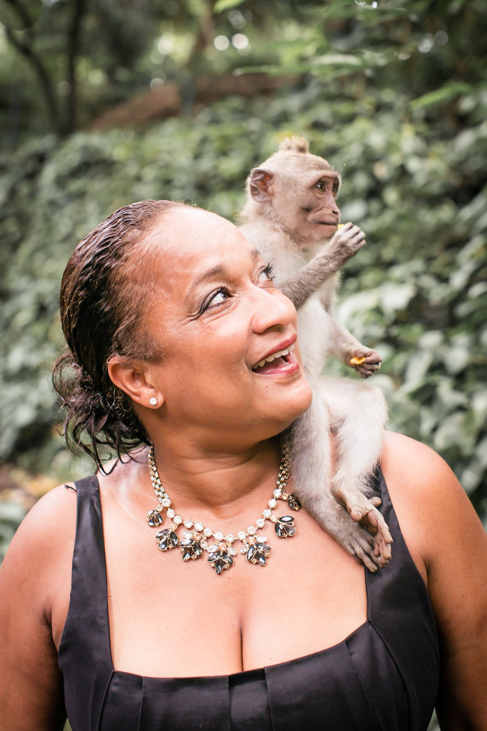 Tonya and Monkey